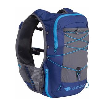 Sac de trail 12L homme ACTIV bleu foncé/gris