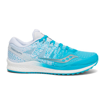 Saucony FREEDOM ISO 2 - Chaussures running Femme bleu/blanc