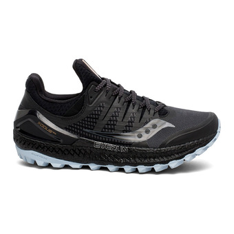 Saucony XODUS ISO 3 - Chaussures trail Femme gris/noir