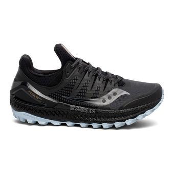 Saucony XODUS ISO 3 - Zapatillas de trail mujer gris/negro