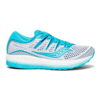 Saucony TRIUMPH ISO 5 - Zapatillas de running mujer blanco/azul