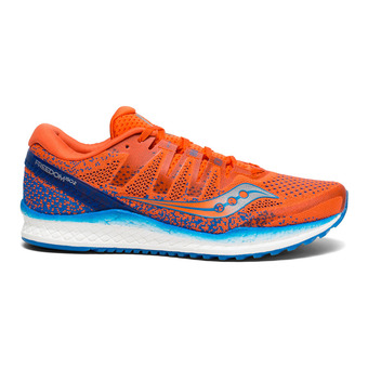 Saucony FREEDOM ISO 2 - Chaussures running Homme orange/bleu