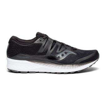 Saucony RIDE ISO - Zapatillas de running hombre negro