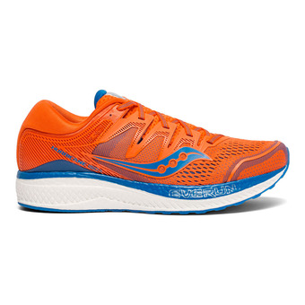 Saucony HURRICANE ISO 5 - Running Shoes - Men's - orange/blue