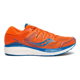 Saucony HURRICANE ISO 5 - Scarpe da running Uomo arancione/blu