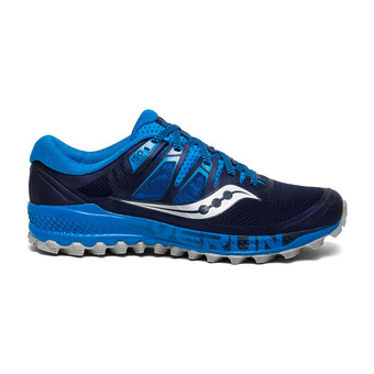 Saucony PEREGRINE ISO - Trail Shoes - Men's - blue/marine