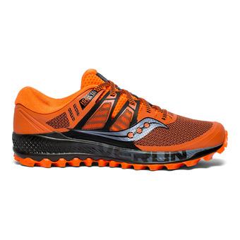 Saucony PEREGRINE ISO - Zapatillas de trail hombre naranja/negro