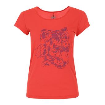 Eider FLEX - Tee-shirt Femme spicy coral