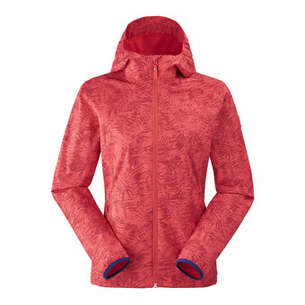 Eider TONIC - Chaqueta mujer spicy coral print