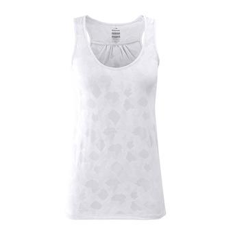 Eider FLEX JACQUARD - Camiseta de tirantes mujer white