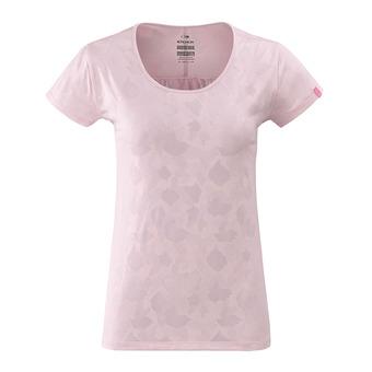 Eider FLEX JACQUARD - Tee-shirt Femme rose syrup