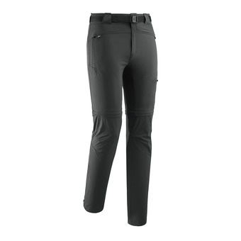 Pantalon convertible homme FLEXZIPOFF crest black