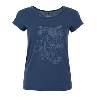Eider FLEX - T-shirt Donna storm blue