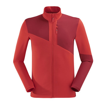 Polaire homme POWER red eider