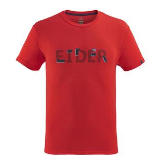 Eider KIDSTON - Tee-shirt Homme red eider