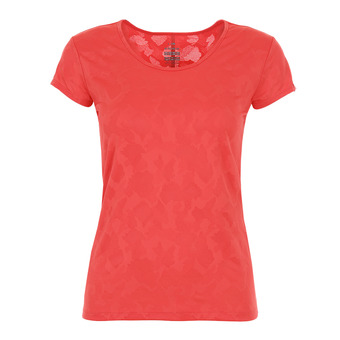Eider FLEX JACQUARD - Tee-shirt Femme spicy coral