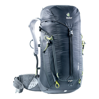 Deuter TRAIL 30L - Mochila black/graphite