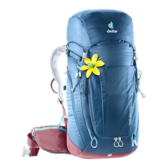 Deuter TRAIL PRO 34L - Backpack - Women's - night blue/raspberry