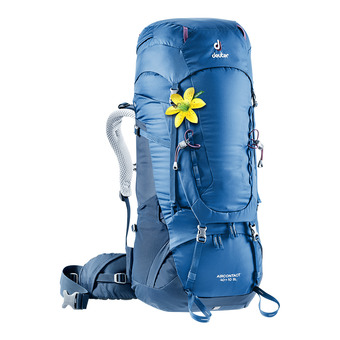 Deuter AIRCONTACT 40+10L - Backpack - Women's - steel/night blue