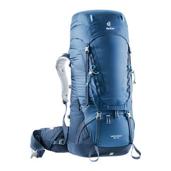 Deuter AIRCONTACT 55+10L - Backpack - night blue/navy blue