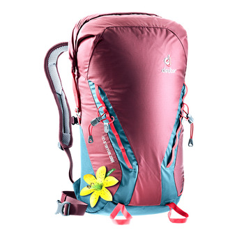 Deuter GRAVITY ROCK&ROLL 28L - Backpack - Women's - burgundy/arctic blue