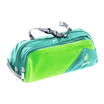 Bolsa de aseo 1L WASH BAG TOUR I azul petróleo/verde