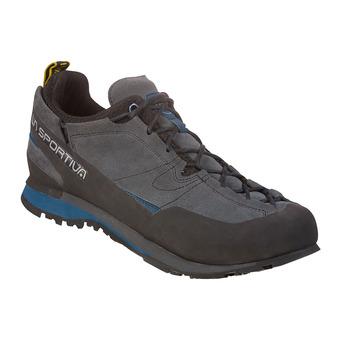 La Sportiva BOULDER X - Zapatillas de aproximación hombre carbon/opal