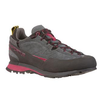 La Sportiva BOULDER X - Zapatillas de aproximación mujer carbon/beet