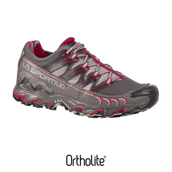 La Sportiva ULTRA RAPTOR - Chaussures trail Femme carbon/beet