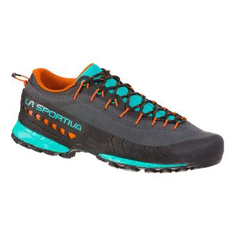 La Sportiva TX4 - Approach Shoes - Women's - carbon/aqua