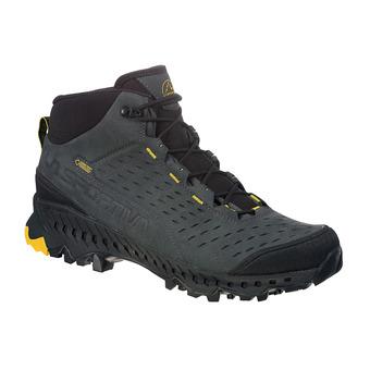 La Sportiva PYRAMID GTX - Chaussures randonnée Homme carbon/yellow