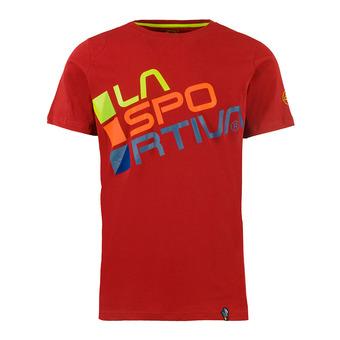 La Sportiva SQUARE - Camiseta hombre chili