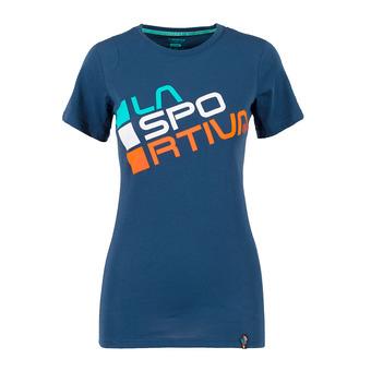 La Sportiva SQUARE - T-Shirt - Women's - opal