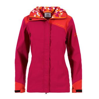 La Sportiva PITCH - Jacket - Women's - beet/garnet