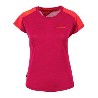 La Sportiva TX COMBO EVO - Camiseta mujer beet/garnet