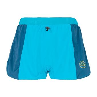 La Sportiva AUSTER - Short hombre tropic blue/opal