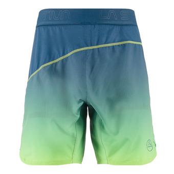 La Sportiva MEDAL - Short hombre opal/apple green
