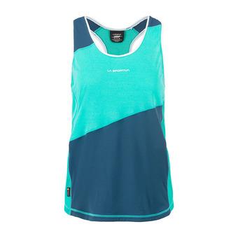 La Sportiva DRIFT - Camiseta de tirantes mujer aqua/opal