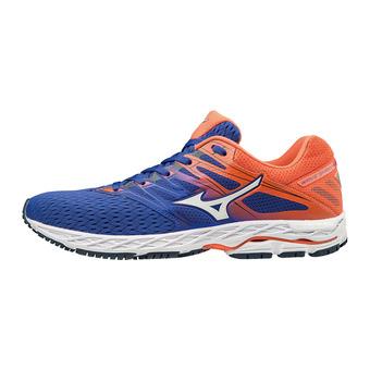 Zapatillas de running hombre WAVE SHADOW 2 reflex blue/white/nasturtium