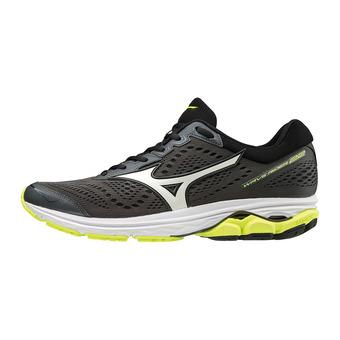 Zapatillas de running hombre WAVE RIDER 22 dark shadow/white/safety yellow