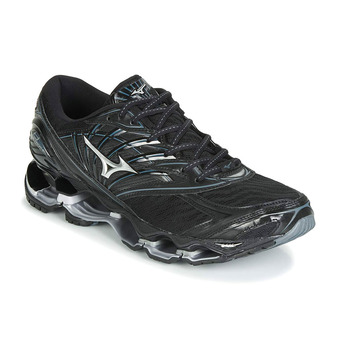 Mizuno WAVE PROPHECY 8 - Zapatillas de running hombre black/silver/stormy weather