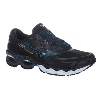 Mizuno WAVE CREATION 20 - Chaussures running Homme black/black/blue jewel