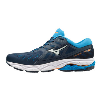 Mizuno WAVE ULTIMA 11 - Zapatillas de running hombre malibu blue/white/brillant blue