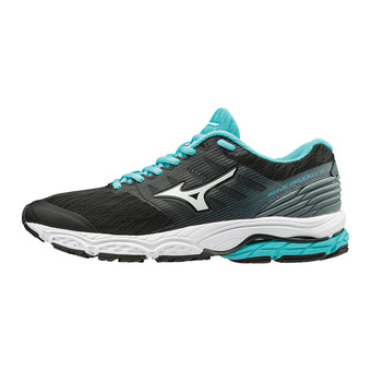 Zapatillas de running mujer WAVE PRODIGY 2 black/white/stormy weather