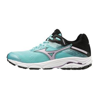 Mizuno WAVE INSPIRE 15 - Zapatillas de running mujer angel blue/lavender frost/black