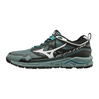 Mizuno WAVE DAICHI 4 - Chaussures trail Homme stormy weather/silver/peacock blue