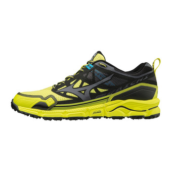 Mizuno WAVE DAICHI 4 - Zapatillas de trail hombre bolt/dark shadow/black