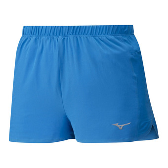 Mizuno AERO SPILT 1.5 - Short Homme brilliant blue