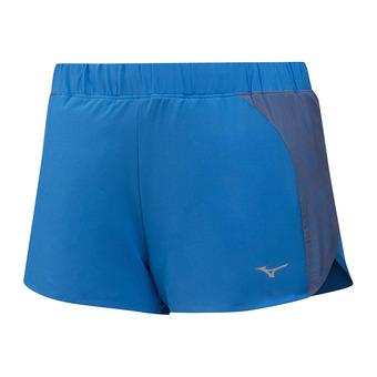 Mizuno AERO 2.5 - Short Femme brilliant blue