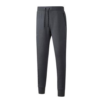 Mizuno HERITAGE RIB - Pantalón de chándal hombre heather grey